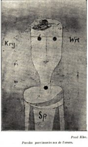Klee-Paul-Paroles parcimonieuses de l'avare