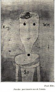 Klee-Paul-Paroles parcimonieuses de l'avare